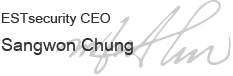 ESTsecurity CEO Sangwon Chung